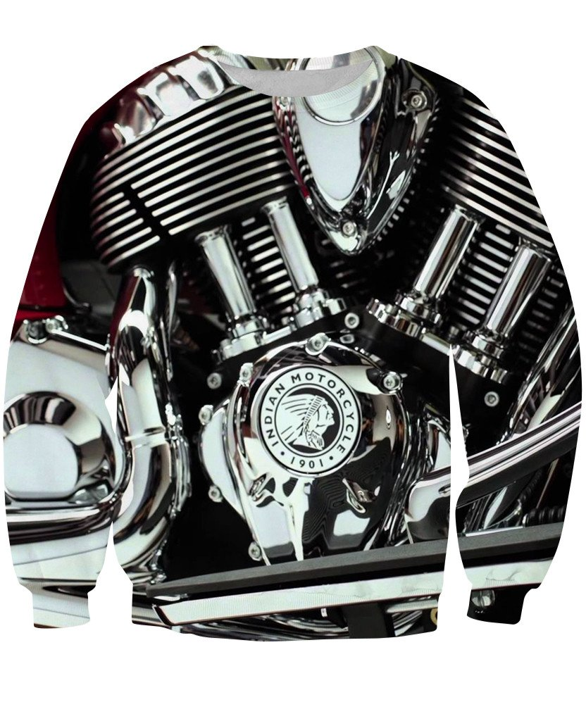 Sweatshirt - New Motorcycle 3D Sweatshirt #3