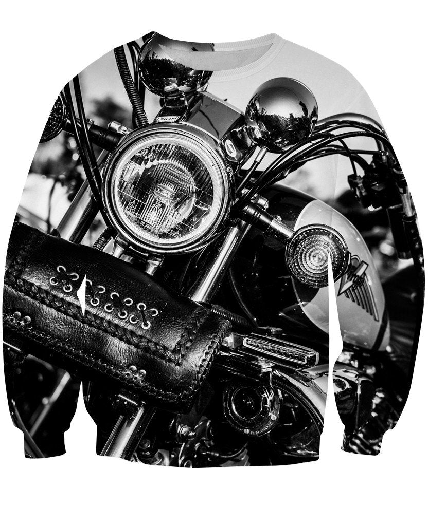 Sweatshirt - New Motorcycle 3D Sweatshirt #6