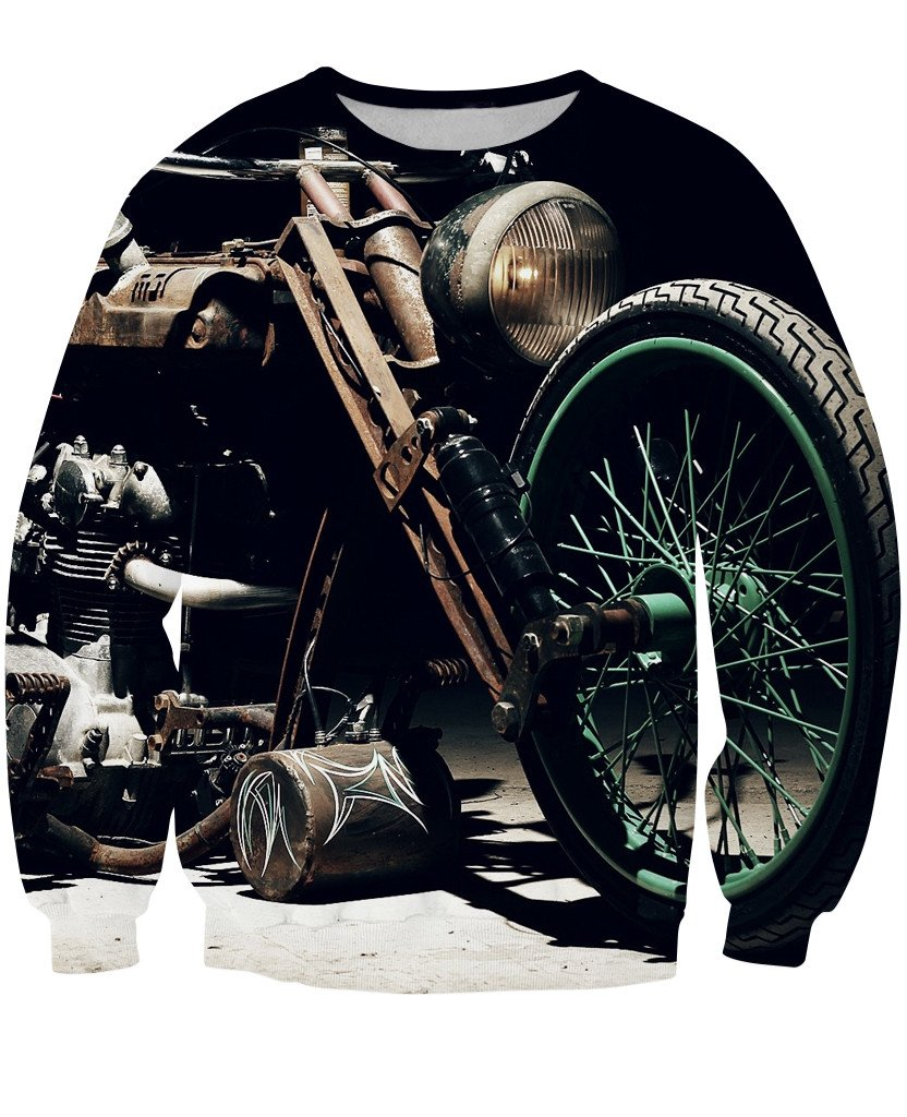 Sweatshirt - New Motorcycle 3D Sweatshirt #9