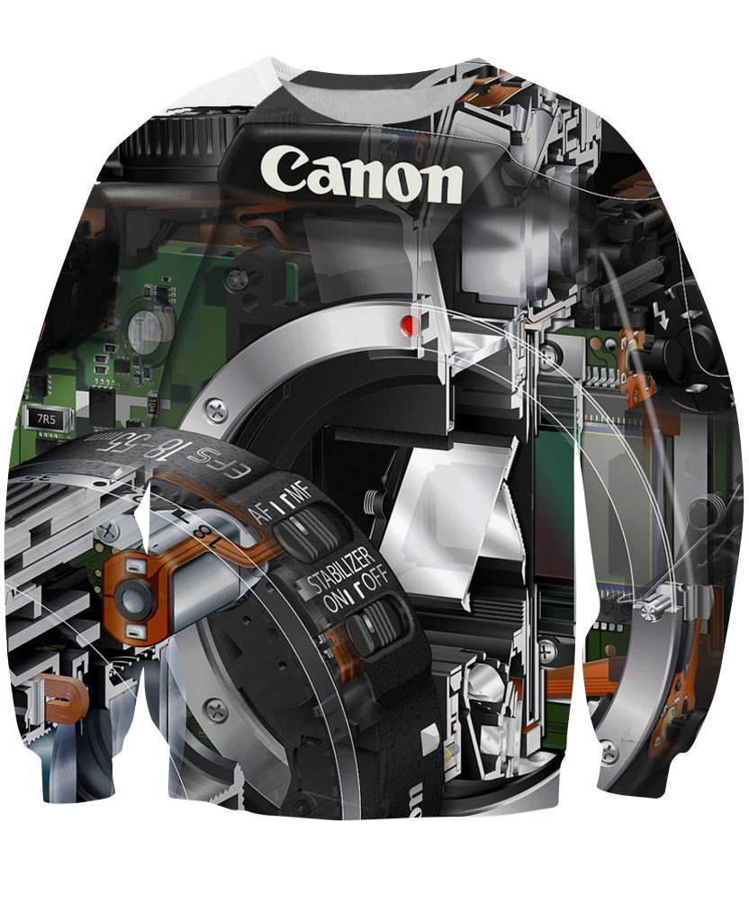Sweatshirt - Photographer Lens New 3D Sweatshirt #12