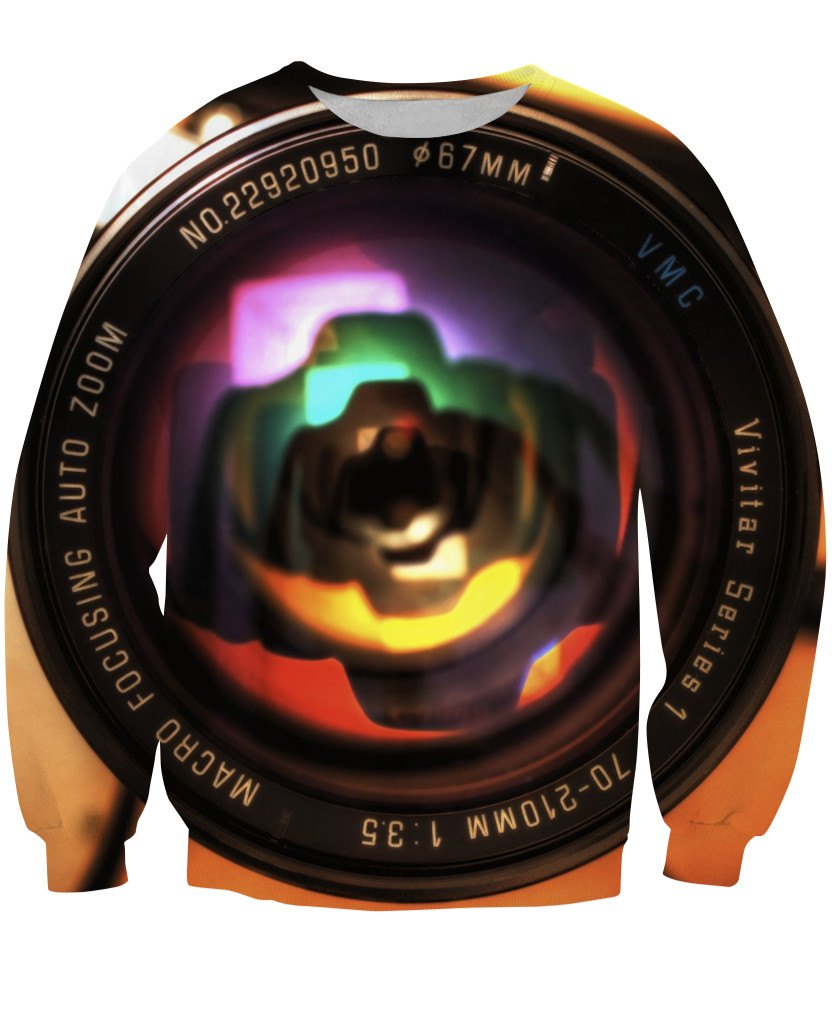 Sweatshirt - Photographer Lens New 3D Sweatshirt #16