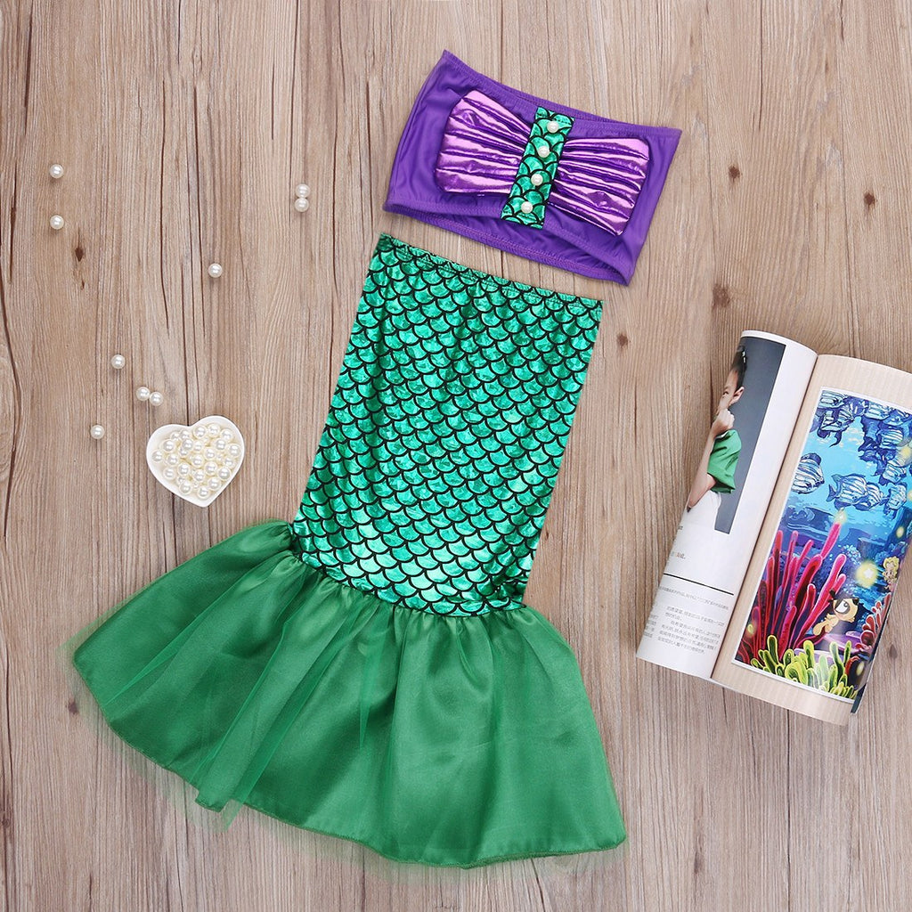 Swimsuit - Mermaid Kids Cute Swimsuit