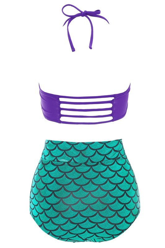 Swimsuit - Sexy Mermaid Bikini Set Swimsuit