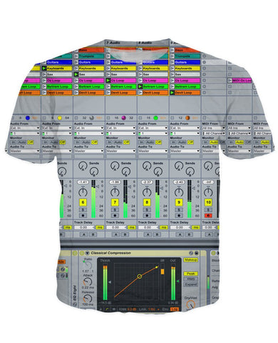 T-shirt - Ableton Music DJ Editor 3D New T-Shirt #10