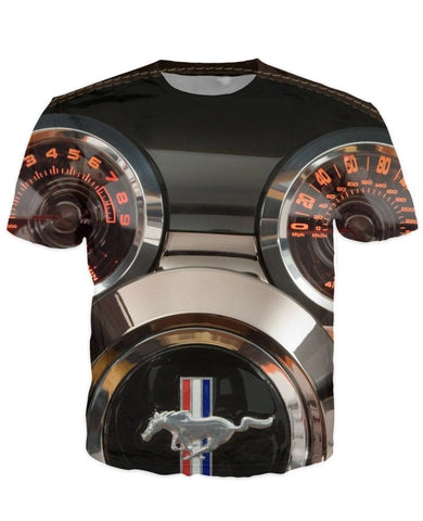 T-shirt - Amazing Auto Engine 3D T-Shirt #69