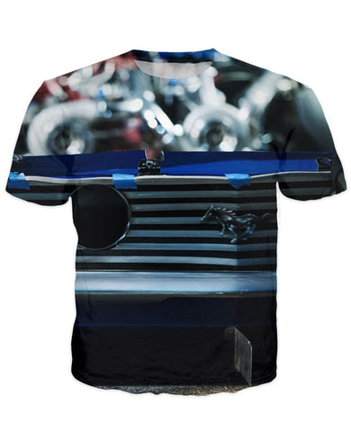 T-shirt - Amazing Auto Engine 3D T-Shirt #70