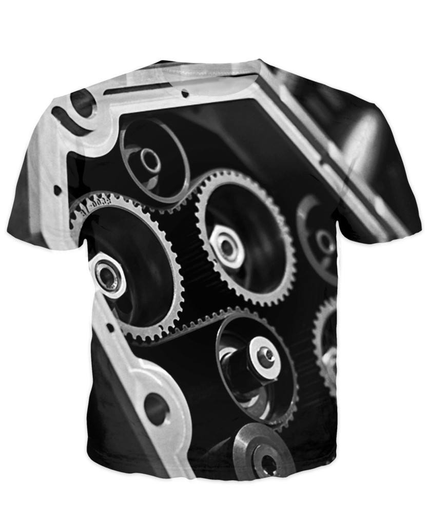 T-shirt - Amazing Auto Engine 3D T-Shirt #77