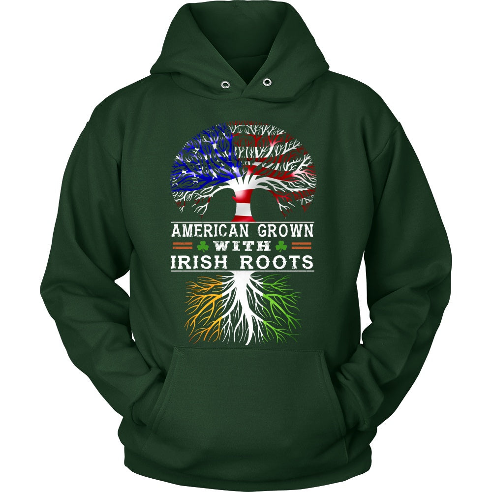 T-shirt - American Grown With Irish Roots