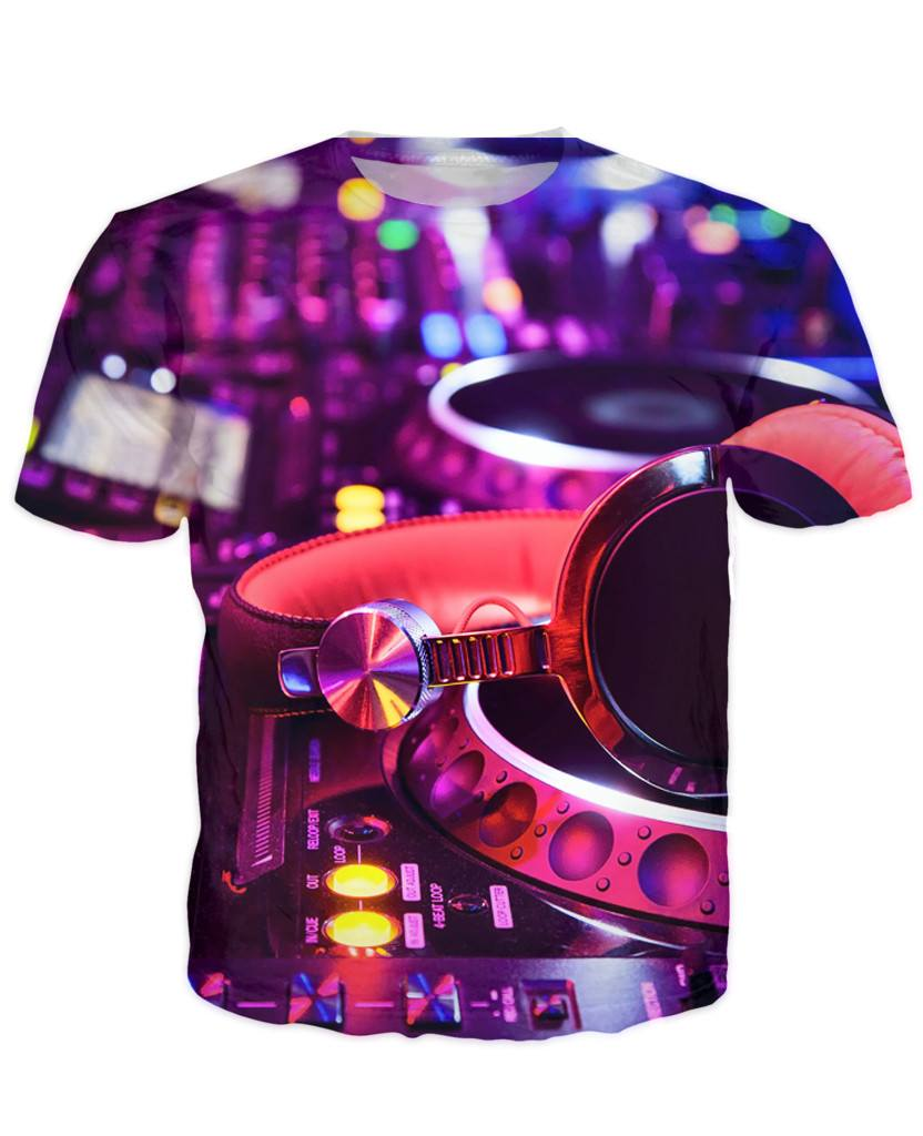 T-shirt - Art Music Dj 3D T-Shirt