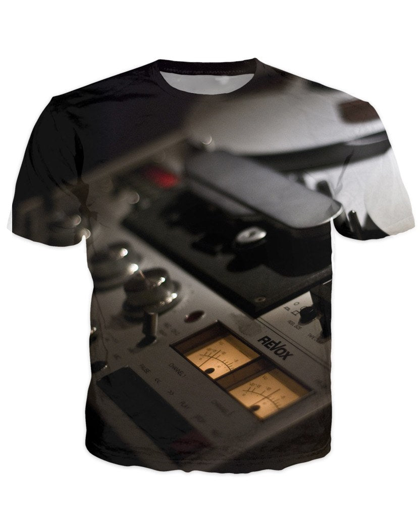 T-shirt - Audio Mix Dj 3D T-Shirt #12