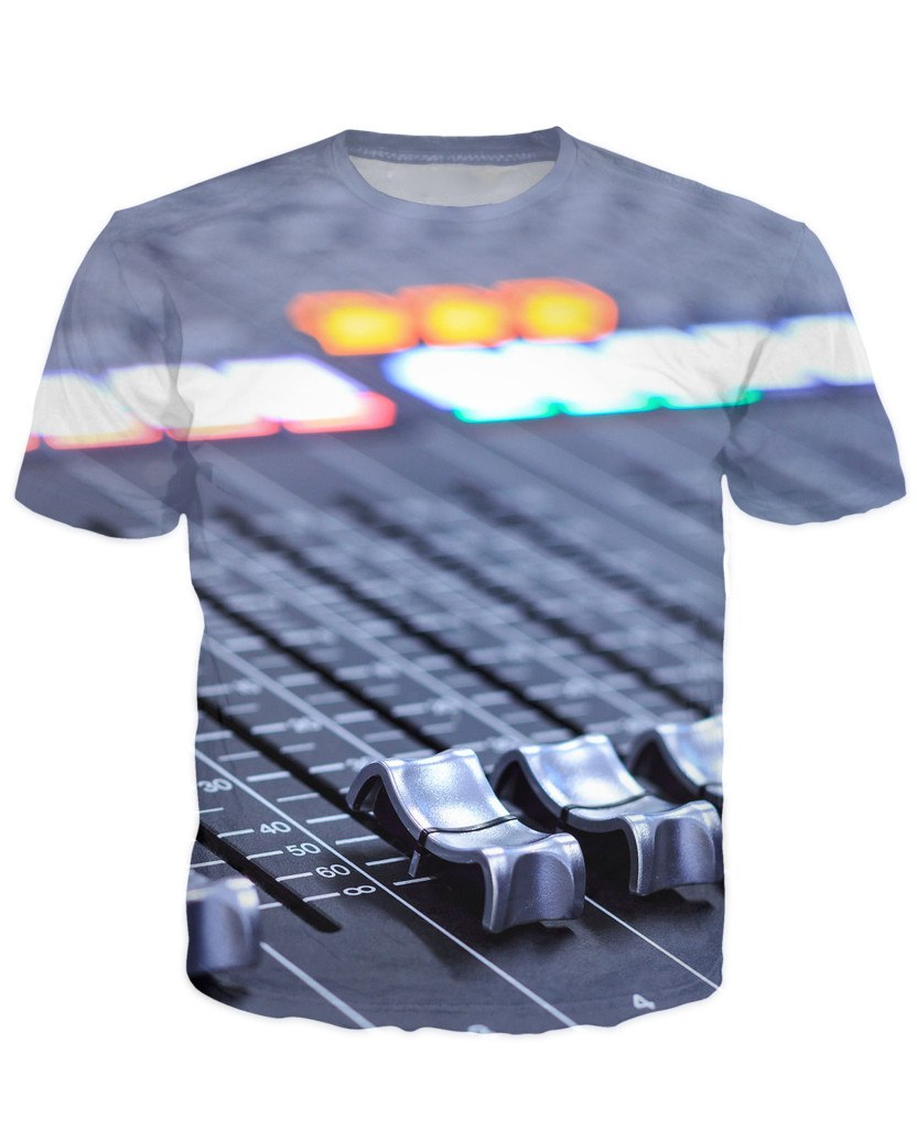 T-shirt - Audio Mix Dj 3D T-Shirt #3