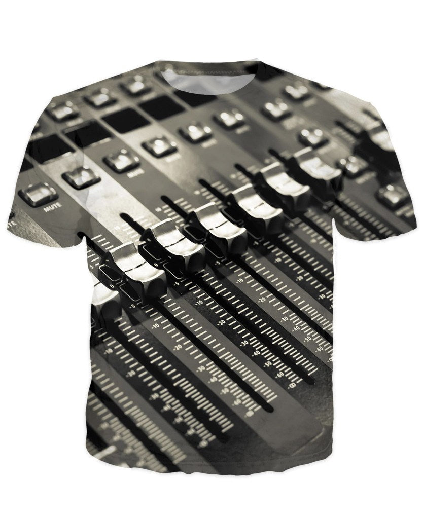 T-shirt - Audio Mix Dj 3D T-Shirt #6