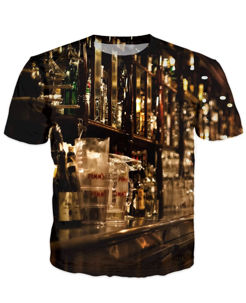 T-shirt - Bar Cocktail 3D T-Shirt #36
