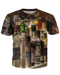 T-shirt - Bar Cocktail 3D T-Shirt #39