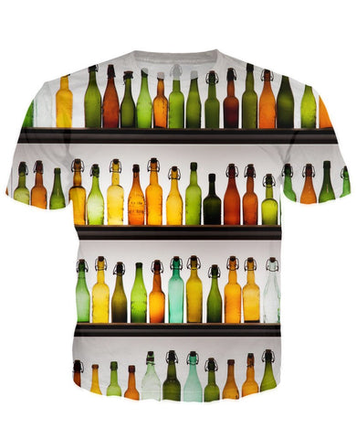 T-shirt - Bar Cocktail 3D T-Shirt #41