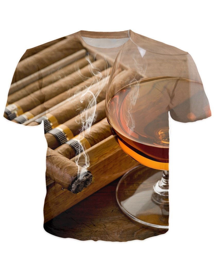 T-shirt - Bar Cocktail 3D T-Shirt #43
