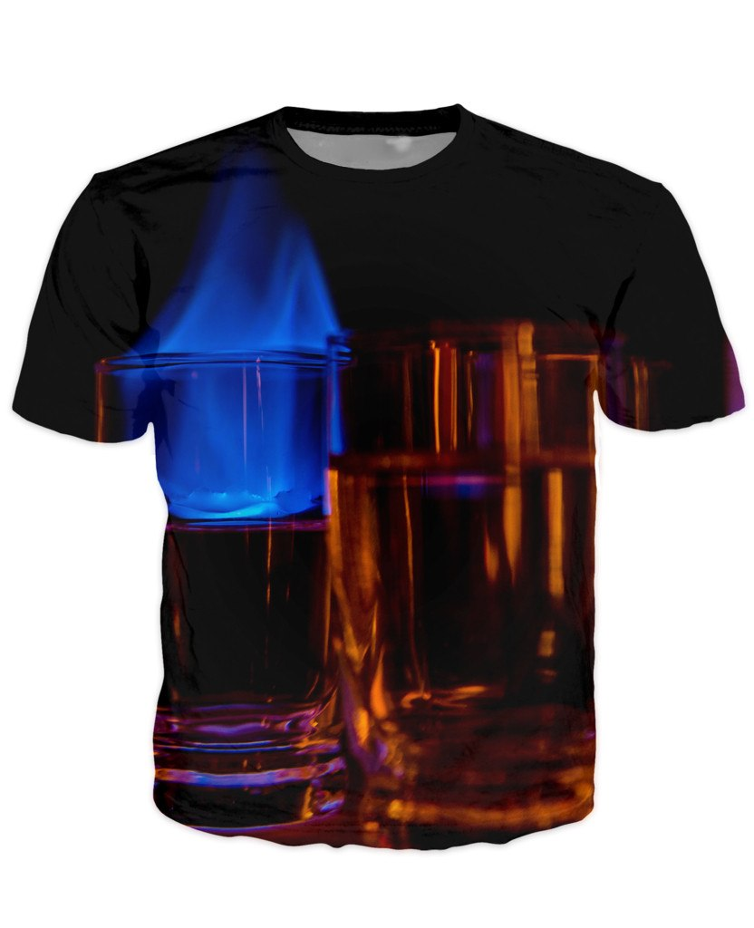 T-shirt - Bar Cocktail 3D T-Shirt #46