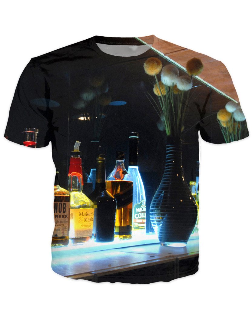 T-shirt - Bar Cocktail 3D T-Shirt #52