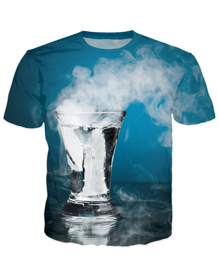 T-shirt - Bar Cocktail 3D T-Shirt #55