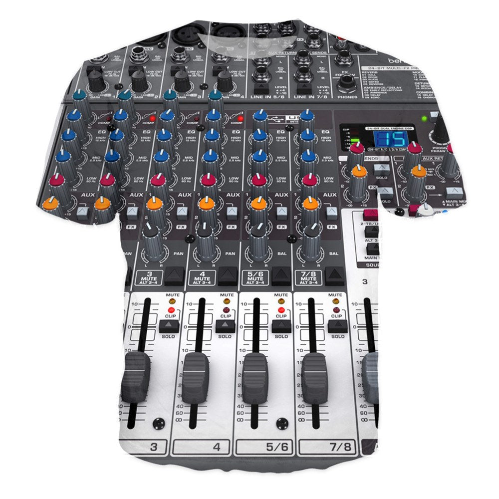 T-shirt - Behringer In Studio DJ 3D T-Shirt