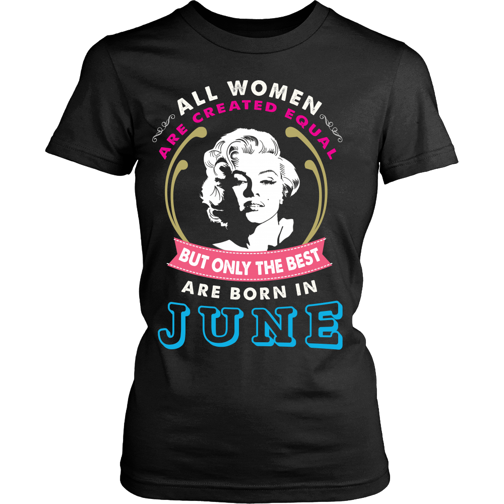 T-shirt - Born In June T-Shirt