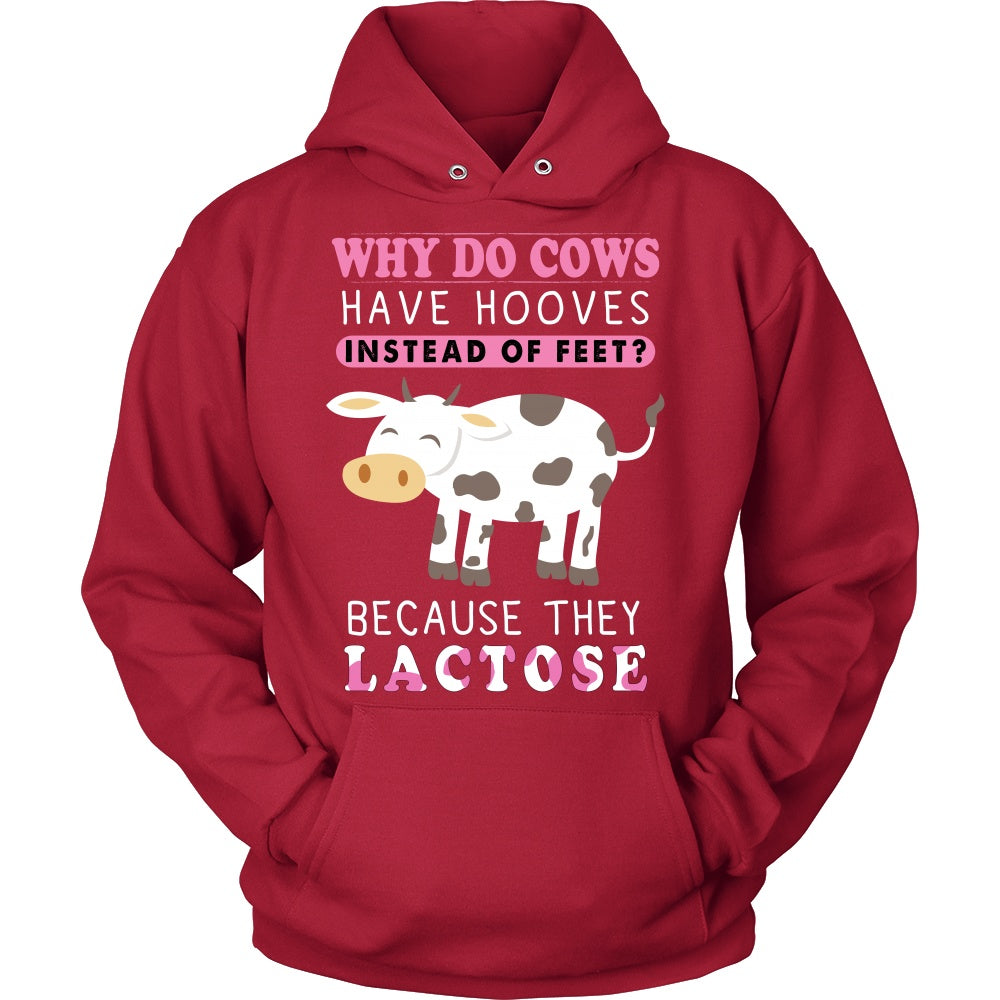 T-shirt - Cows Have Hooves Hoodie, Tank, V-Neck