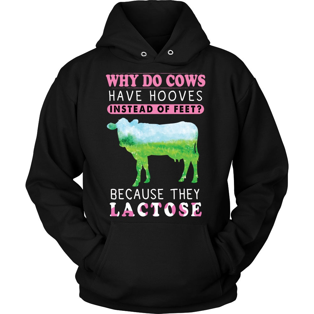 T-shirt - Cows Have Hooves Tanks, Hoodies