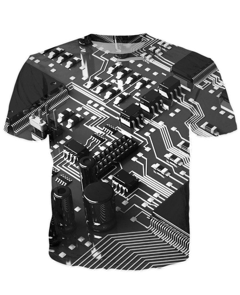 T-shirt - CPU IT Gamer Edition 3D T-Shirt #2