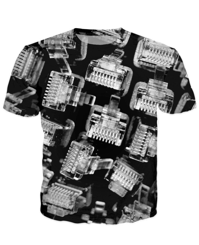 T-shirt - CPU IT Gamer Edition 3D T-Shirt #5