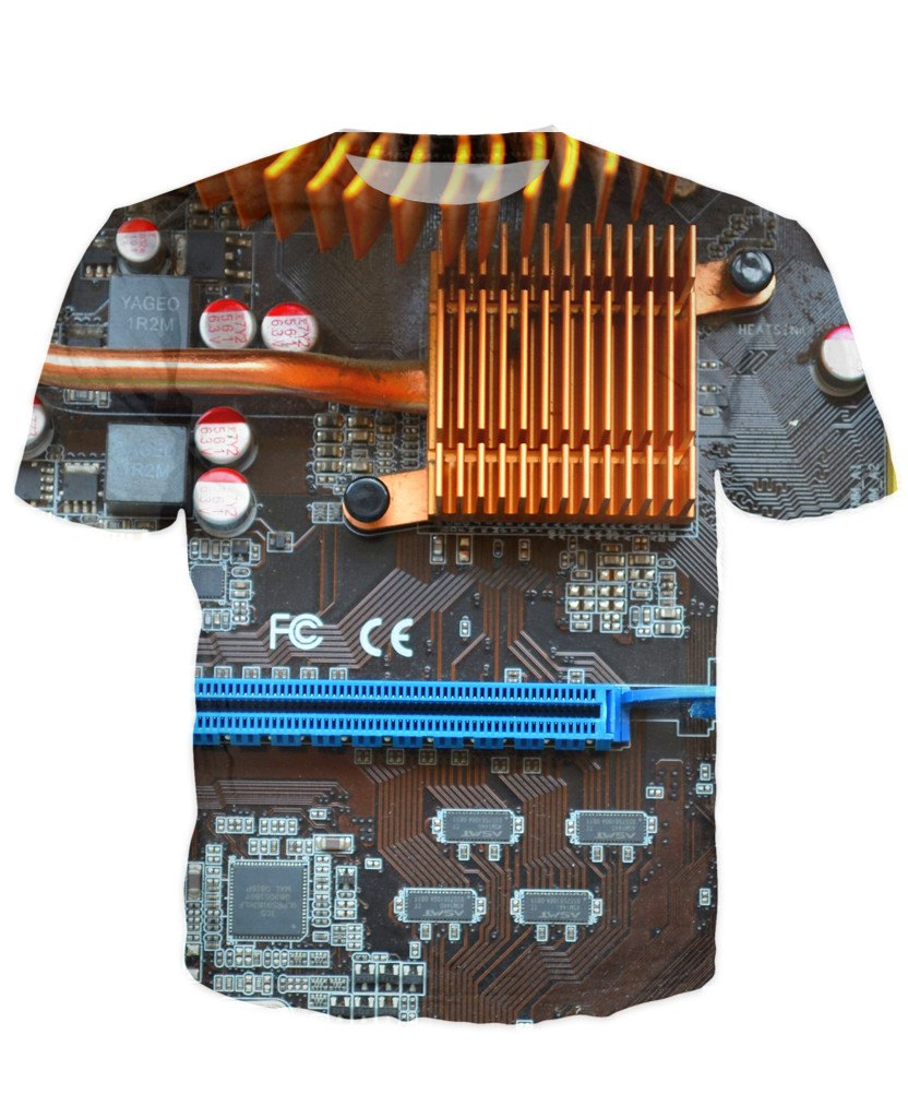 T-shirt - CPU IT Gamer Edition 3D T-Shirt #6