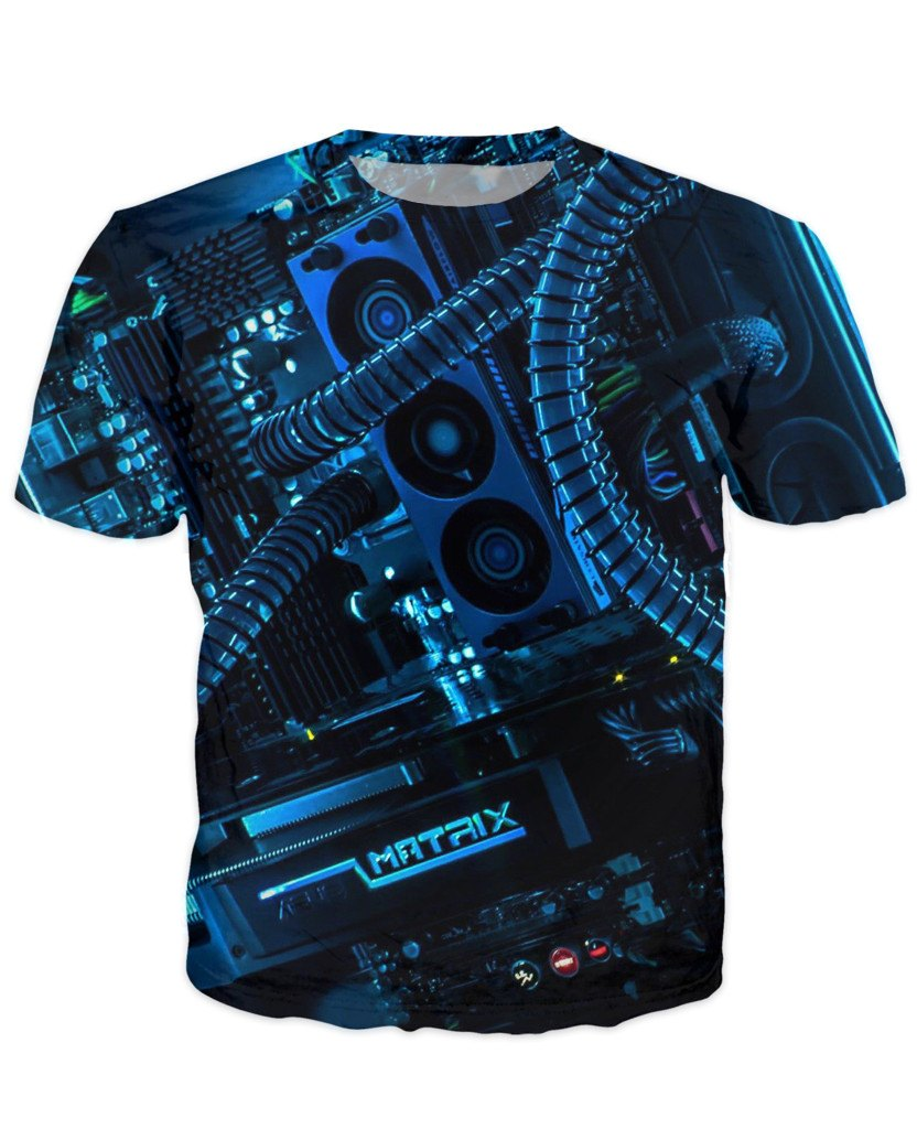 T-shirt - CPU IT Gamer Edition 3D T-Shirt #91