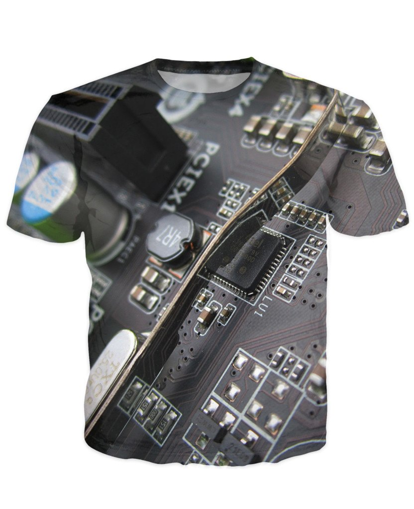 T-shirt - CPU IT Gamer Edition 3D T-Shirt #94
