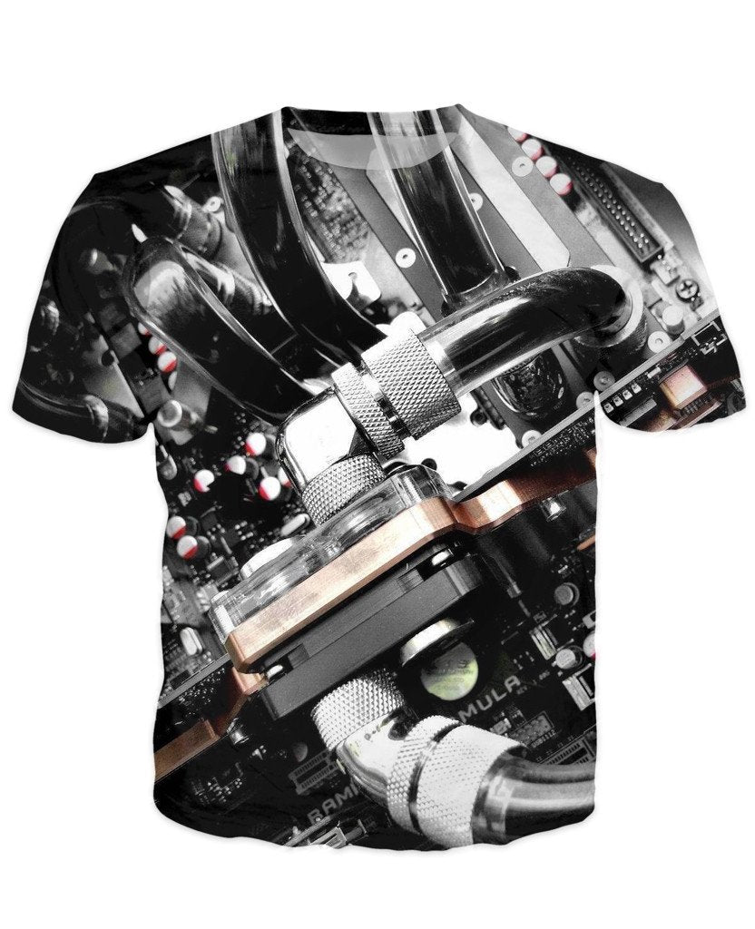 T-shirt - CPU IT Gamer Edition 3D T-Shirt #95