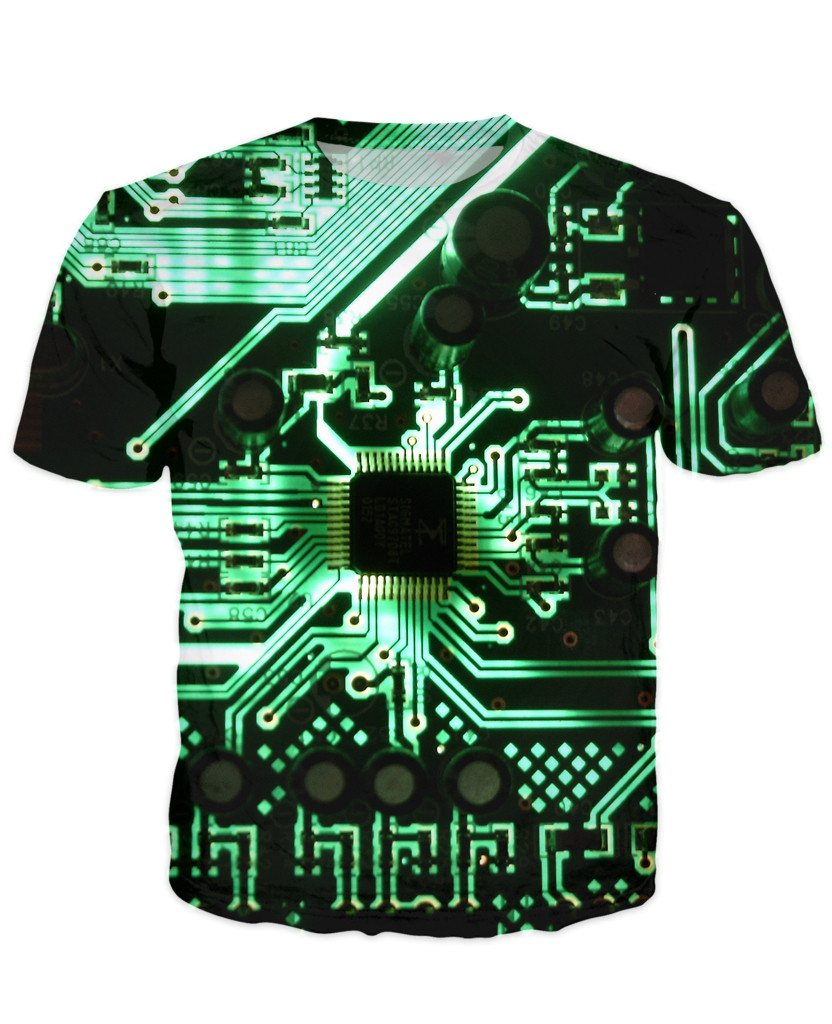 T-shirt - CPU IT Gamer Edition 3D T-Shirt #96
