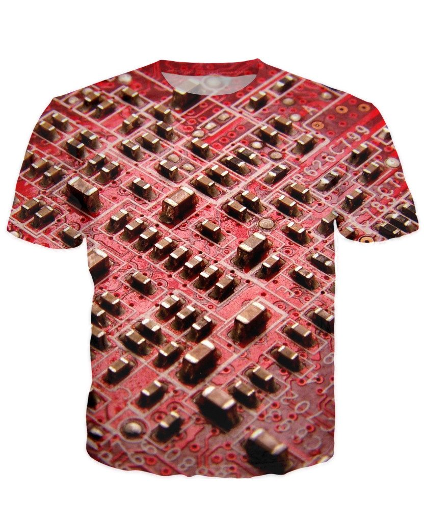 T-shirt - CPU IT Gamer Edition 3D T-Shirt #99