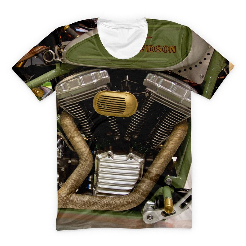 T-shirt - Harley Engine Super Motorcycle 3D T-Shirt #11
