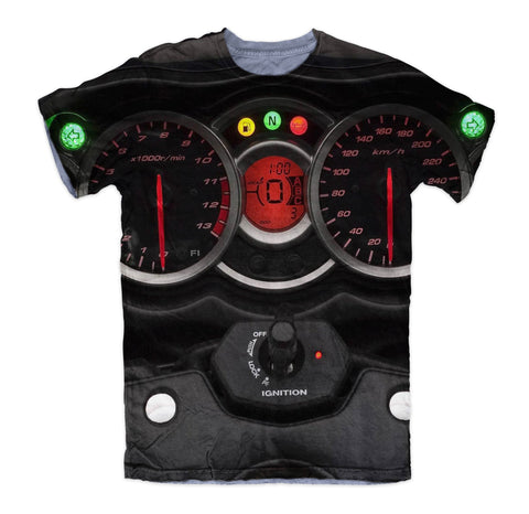 T-shirt - Hayabusa Motorcycle 3D T-Shirt #1