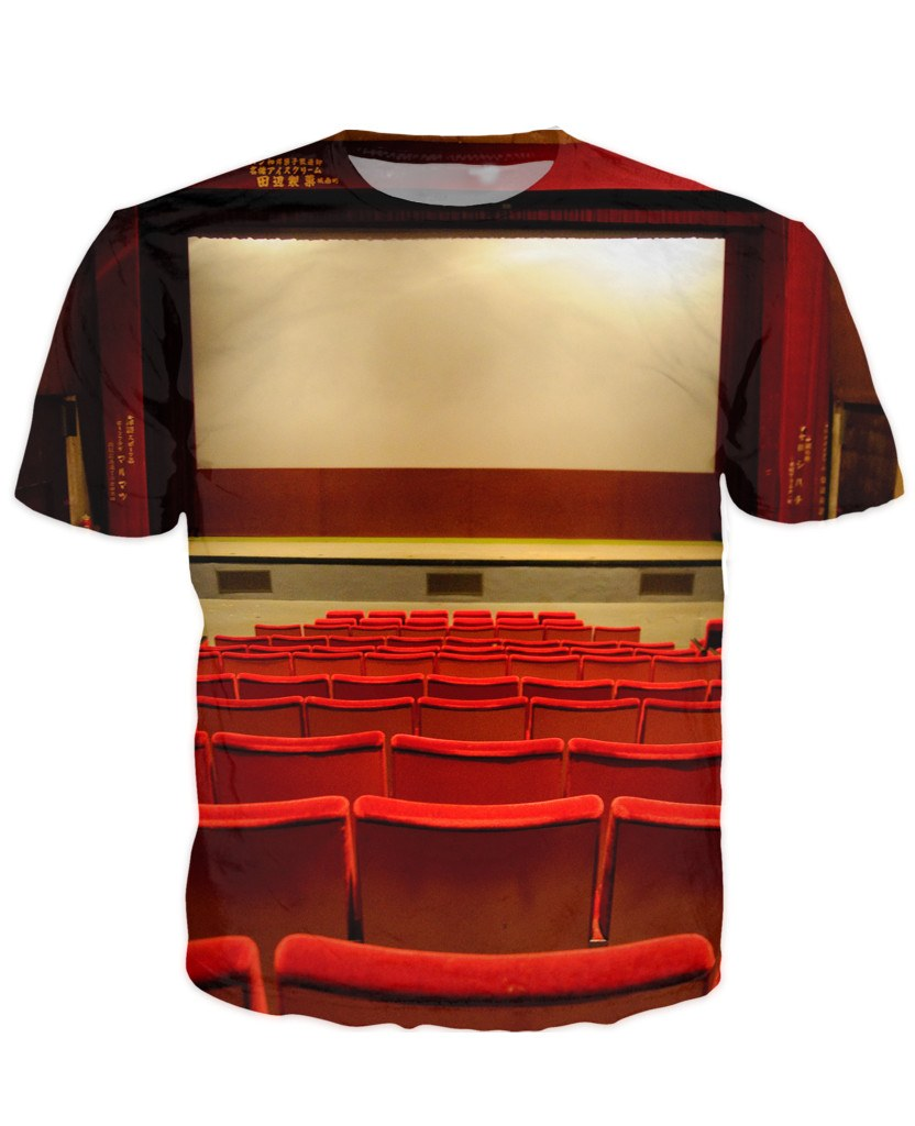 T-shirt - Limited Edition Cinema 3D T-shirt