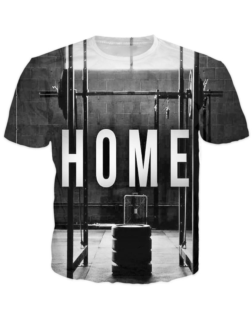 T-shirt - Limited Edition Gym = Home 3D T-Shirt