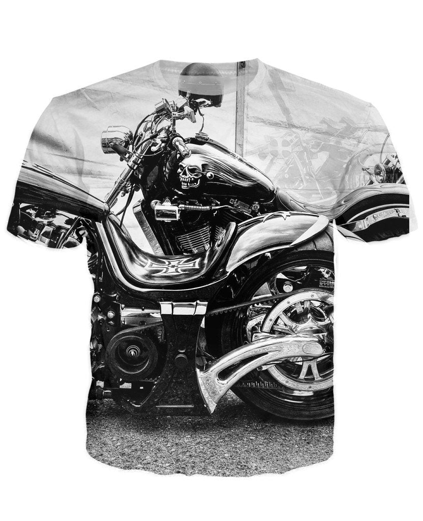 T-shirt - Motorcycle Engine 3D T-Shirt #56