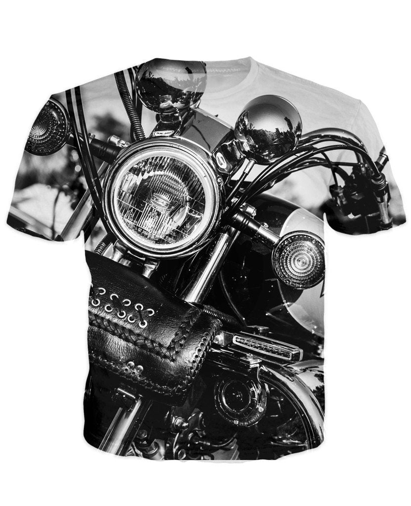 T-shirt - Motorcycle Engine 3D T-Shirt #59