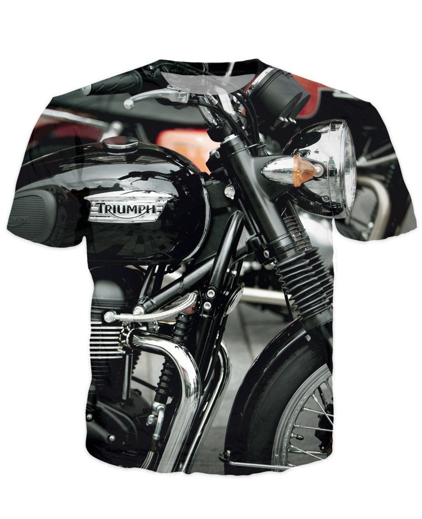 T-shirt - Motorcycle Engine 3D T-Shirt #60