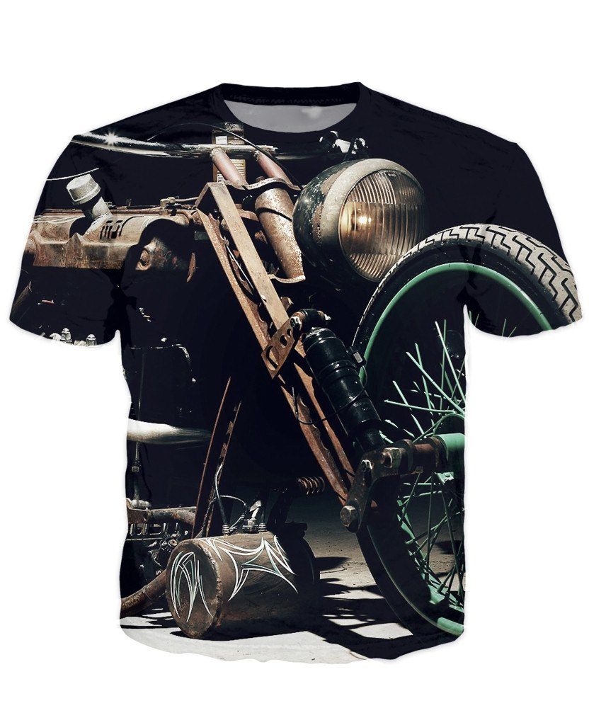 T-shirt - Motorcycle Engine 3D T-Shirt #62