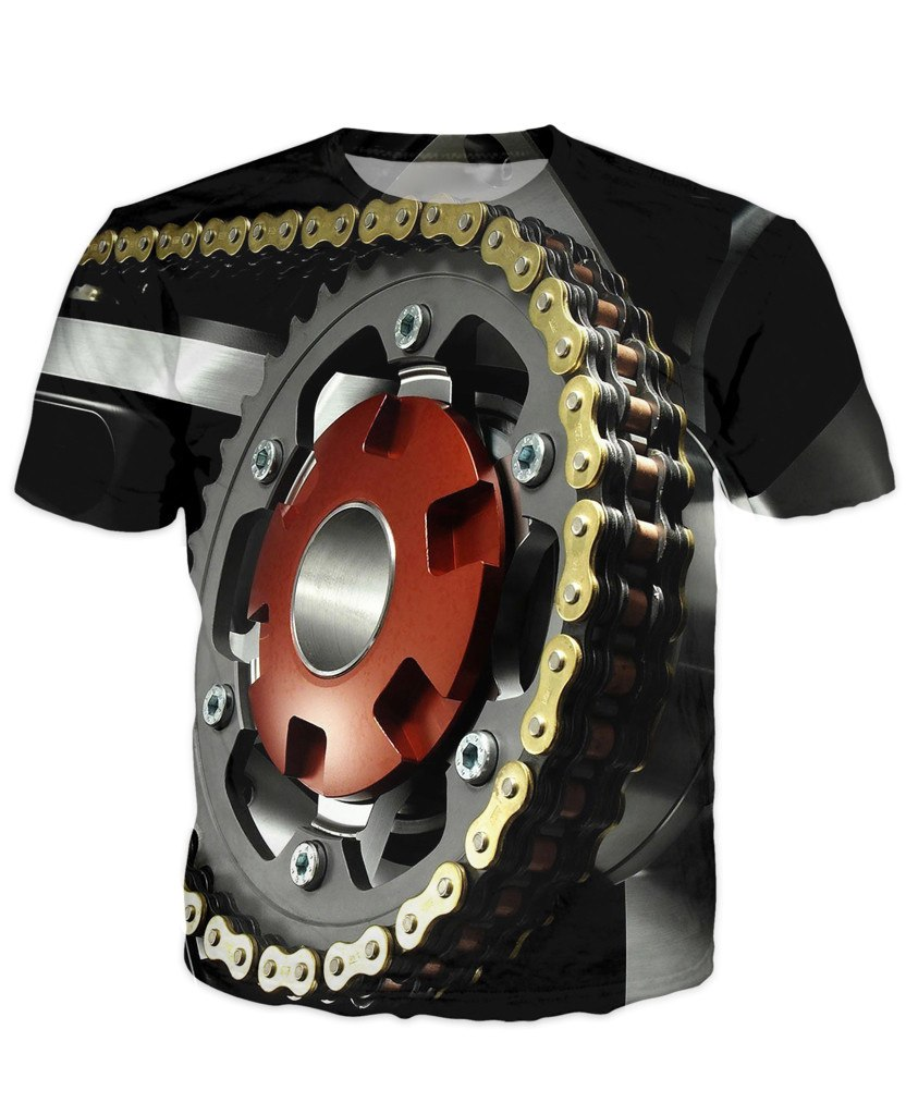 T-shirt - Motorcycle Engine 3D T-Shirt #68