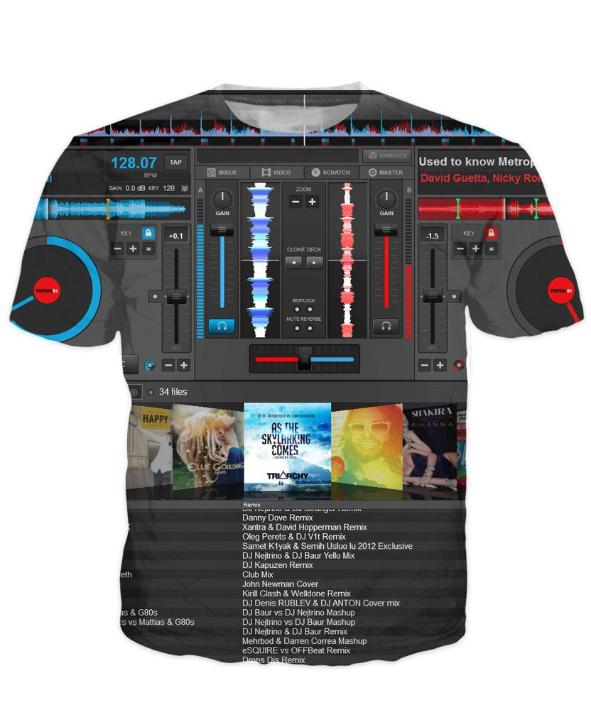 T-shirt - Music DJ Editor 3D New T-Shirt #2