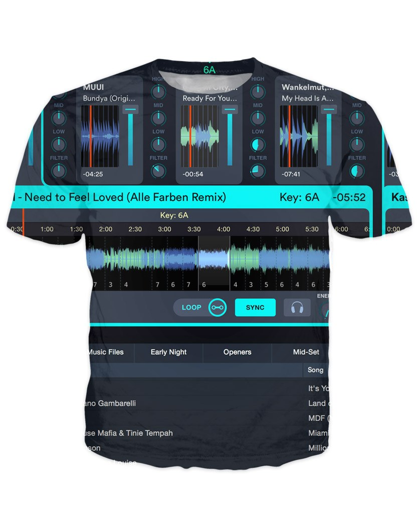 T-shirt - Music DJ Editor 3D New T-Shirt #5