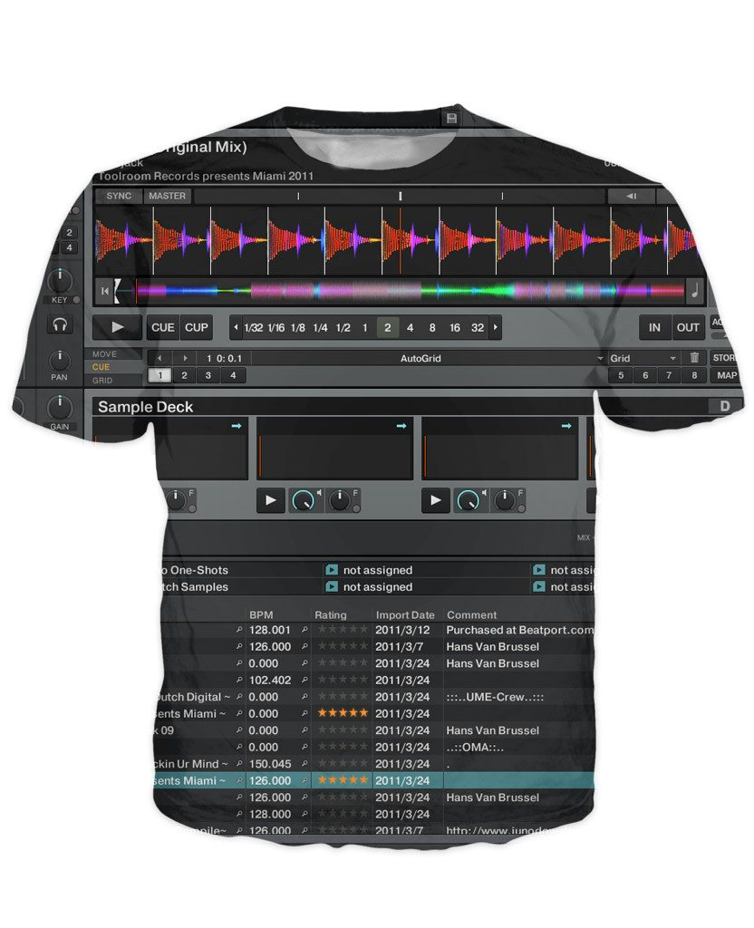 T-shirt - Music DJ Editor 3D New T-Shirt #7