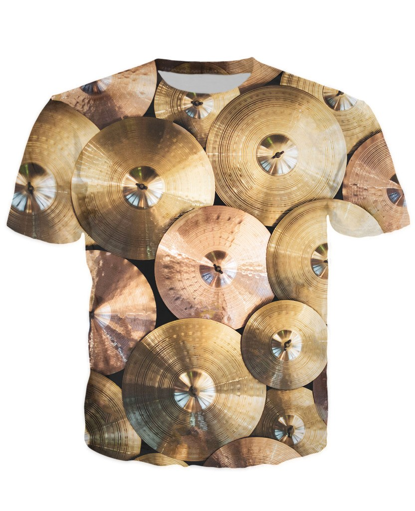 T-shirt - Music Drummer 3D T-Shirt #5