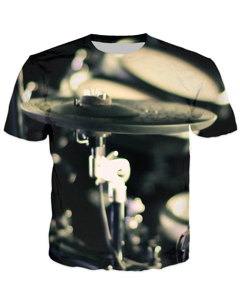 T-shirt - Music Drummer 3D T-Shirt #9