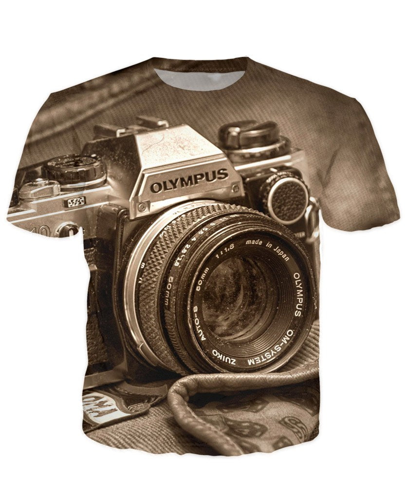T-shirt - New Photographer Lens 3D T-Shirt #12